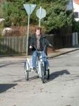 Ich lerne Fahrradfahren