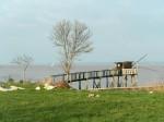 Die Gironde bei Pauillac