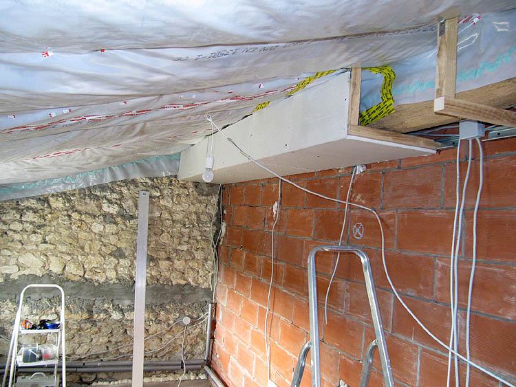 Dachbalken Verkleiden dezember 2012 journal cissac médoc