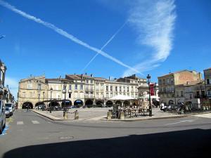 Marktplatz in Libourne