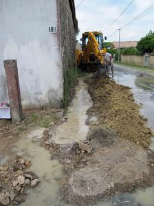 Wasserleitung gekappt