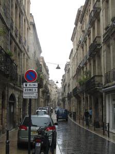 Bordeaux im Regen