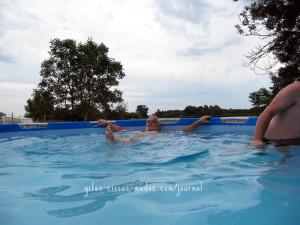 Im Pool